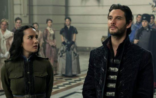 Alina and Kirigan from Shadow and Bone