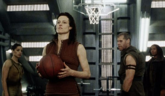 Ripley and some of the Betty's crew from Alien: Resurrection.