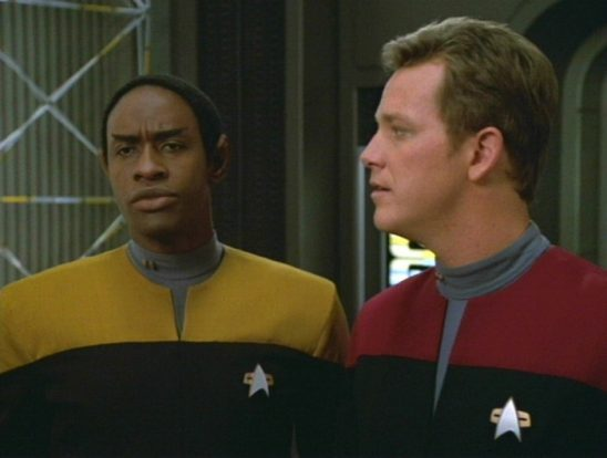 Tuvok and Tome from Worst Case Scenario