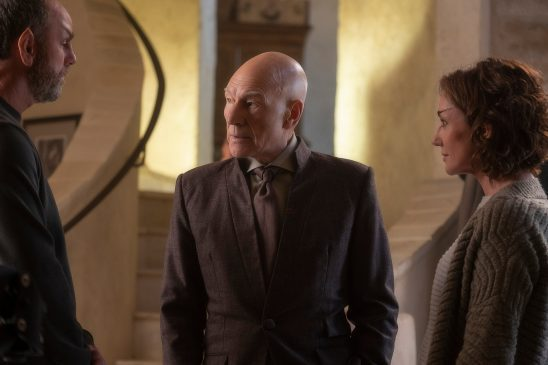 Picard with Zhaban and Laris