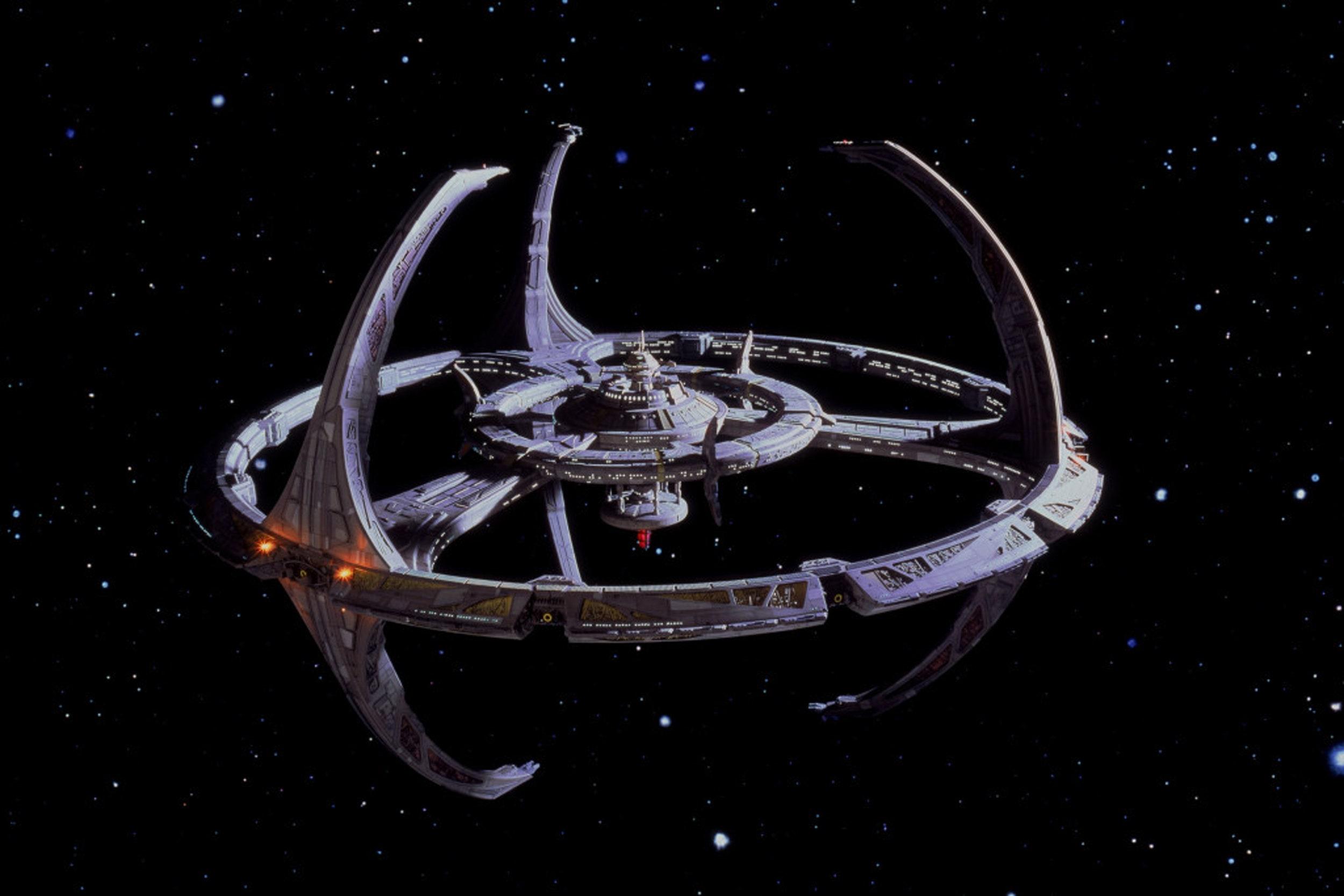 The station Deep Space Nine