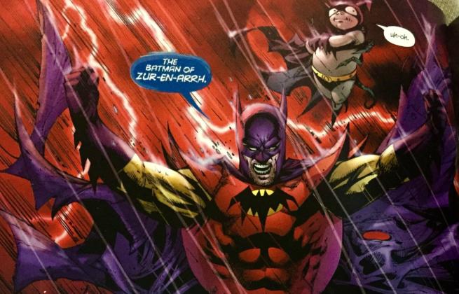 Cover art from The Batman of Zur-En-Arrh