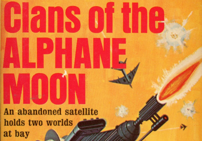 Cover art from Clans of the Alphane Moon