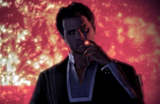 The Illusive Man from Mass Effect