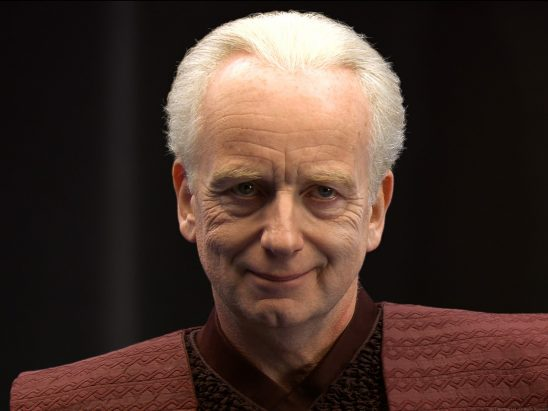 Palpatine before he gets all wrinkly.