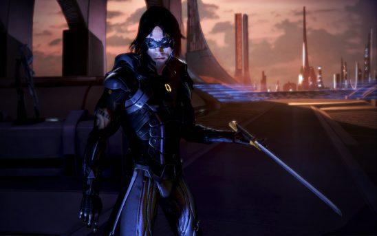 Kai Leng with his sword.