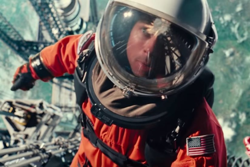 Brad Pitt in a space suit from Ad Astra