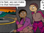 The Helicopter Problem