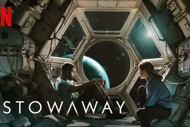 A publicity poster for the film Stowaway