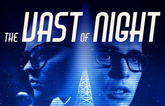 A publicity poster for The Vast of Night
